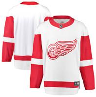 Detroit Red Wings Men's Fanatics Replica Road Jersey - White