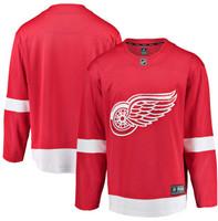 Detroit Red Wings Men's Fanatics Replica Home Jersey - Red