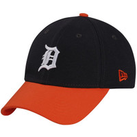 Detroit Tigers Men's New Era 9FORTY Navy The League 2-Tone Adjustable Hat