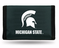 Michigan State University Rico Industries Trifold Nylon Wallet