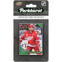 Detroit Red Wings Upper Deck Parkhurst 2017/18 Team Card Set