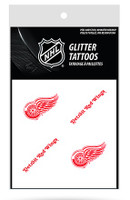 Detroit Red Wings Rico Industries Glitter Tattoos
