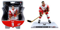 "Detroit Red Wings Gordie Howe 2017-18 NHL 6"" Figure Imports Dragon Wave 2"