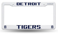 Detroit Tigers Rico Industries Plastic Auto License Plate Frame