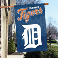 Detroit Tigers Party Animal 44'x28' Vertical Double Sided Flag