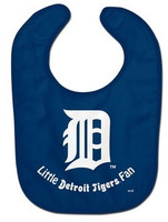 "Detroit Tigers McArthur ""Little Detroit Tigers Fan"" Bib"