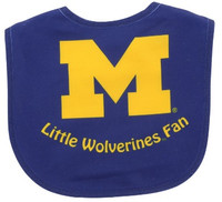 "University of Michigan WinCraft Infant ""Little Wolverines Fan"" Bib"