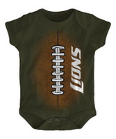"Detroit Lions Outerstuff ""Be The Ball"" Football Onesie"