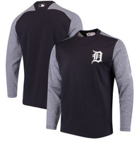 Detroit Tigers Men's Majestic Navy Authentic Collection On-Field Tech Fleece Pullover Sweatshirt