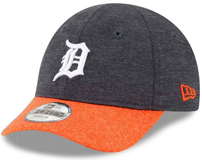 the latest 59cea a4678 ... Detroit Tigers Toddler New Era Navy Blue Shadowed Tot 9FORTY Adjustable  Hat. Image 1. Loading zoom