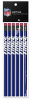 Detroit Lions National Design 6 Pack Pencil Set
