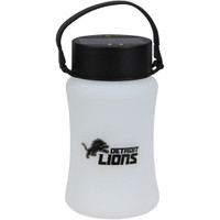 Detroit Lions Team Sports America Frosted Silicone Solar Lantern
