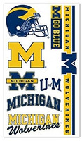 University of Michigan Wincraft Temporary Tattoos