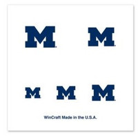 University of Michigan Wincraft 4-Pack Temporary Nail Tattoos
