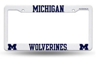 University of Michigan Rico Industries Plastic Auto License Plate Frame