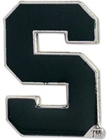 Michigan State University Aminco International Logo Lapel Pin