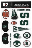 Michigan State University Rico Industries Team Tattoo Variety Pack