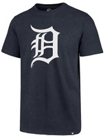Detroit Tigers Men's 47 Brand Fall Navy Imprint Club Tee
