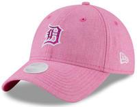 brand new a12d7 229c7 Detroit Tigers Women s New Era Pink 2018 Mother s Day Team Glisten 9TWENTY  Adjustable Hat