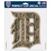 "Detroit Tigers WinCraft Realtree 8""x 8"" Color Decal"