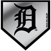 Detroit Tigers Rico Industries Automotive Chrome Team Emblem