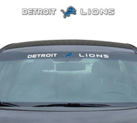 "Detroit Lions Team ProMark 35""x4"" Windshield Decal"