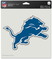"Detroit Lions Wincraft 8""x8"" Perfect Cut Decal"