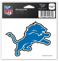 "Detroit Lions Wincraft 3""x3"" Static Window Cling"