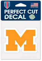 "University of Michigan Wincraft Perfect Cut 4""x4"" Decal"