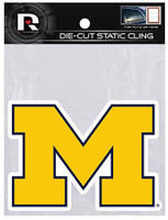 "University of Michigan Rico 5"" Static Cling"
