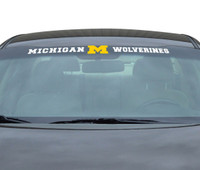"University of Michigan Team ProMark 35""x4"" Windshield Decal"