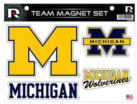 University of Michigan Rico Industries Car Magnet Sheet Set