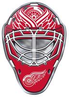 Detroit Red Wings Team ProMark Color Goalie Mask Auto Emblem