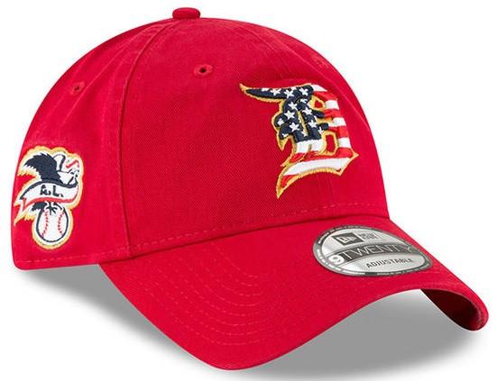 new york 355eb 7b9a0 ... Detroit Tigers Men s New Era Red 2018 Stars   Stripes 4th of July 9TWENTY  Adjustable Hat. Image 1. Loading zoom