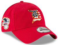Detroit Tigers Men's New Era Red 2018 Stars & Stripes 4th of July 9TWENTY Adjustable Hat