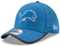 Detroit Lions Men's New Era 2017 Training Camp Official 39THIRTY Flex Hat - Blue