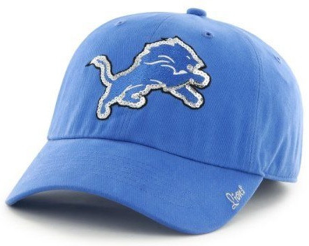... Detroit Lions Women s 47 Brand Sparkle Team Color Adjustable Hat. Image  1. Loading zoom 2d1f24308