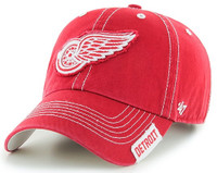 Detroit Red Wings Men's 47 Brand Rockwell Red Clean Up Adjustable Hat