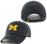 University of Michigan Men's 47 Brand Clean Up Adjustable Hat