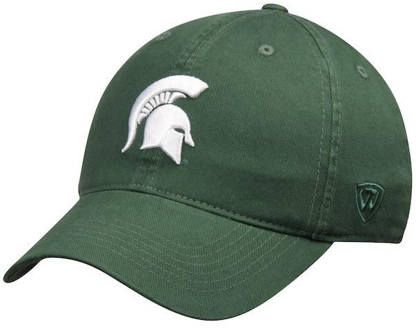 Michigan State University Men s Top of the World Relaxer FlexFit Hat ... f1e206d9e89