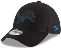 Detroit Lions Men's New Era Black 2018 Training Camp 39THIRTY Flex Hat