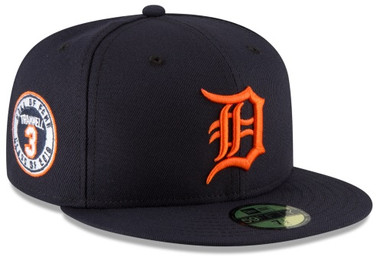 timeless design 97e9a 31cf0 ... free shipping detroit tigers mens new era alan trammell hall of fame 59fifty  fitted hat detroit