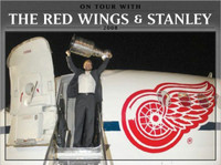 """On Tour With The Red Wings & Stanley 2008"" Book"