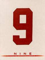 """Gordie Howe """"Nine - A Salute to Mr. Hockey Gordie Howe"""" Commemorative Book"""