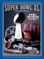 Super Bowl XL Game Program