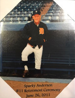 Sparky Anderson Retirement Canvas