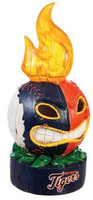 Detroit Tiger My Evergreen Lit Tiki Totem