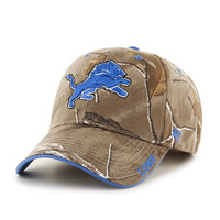 Detroit Lions Men's 47 Brand Realtree Frost Adjustable Hat