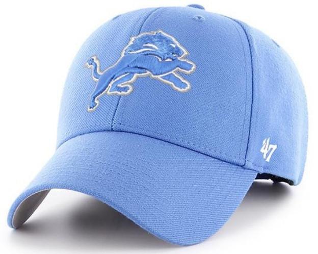 757f85ff Detroit Lions Men's 47 Brand Clean Up MVP Adjustable Hat