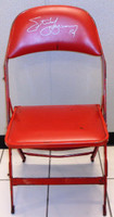 Steve Yzerman Autographed Joe Louis Arena Original Padded Folding Chair